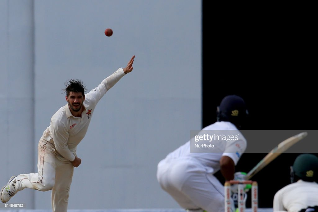 Sri Lanka v Zimbabwe Test Match - 2nd  Day : News Photo