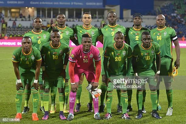 Zimbabwe's squad defender Onismor Bhasera defender Elisha Muroiwa forward Matthew Rusike forward Nyasha Mushweki defender Costa Nhamoinesu midfielder...