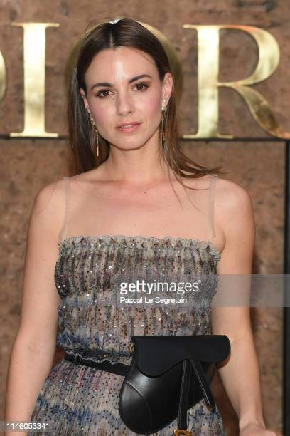Zina Charkoplia attends the Christian Dior Couture S/S20 Cruise Collection on April 29 2019 in Marrakech Morocco