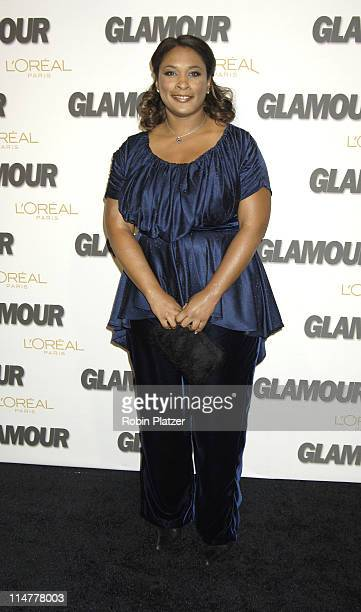 Zina Garrison during Glamour Magazine Salutes The 2005 Women of the Year Inside Arrivals at Avery Fisher Hall in New York City New York United States