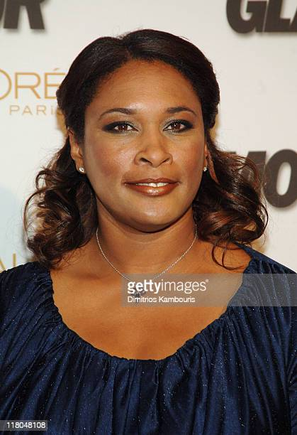Zina Garrison during Glamour Magazine Salutes The 2005 Women of the Year Red Carpet at Avery Fisher Hall in New York City New York United States