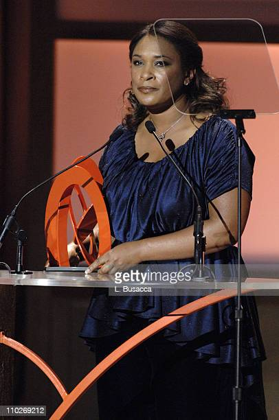 Zina Garrison presenter during Glamour Magazine Salutes The 2005 Women of the Year Show at Avery Fisher Hall in New York City New York United States