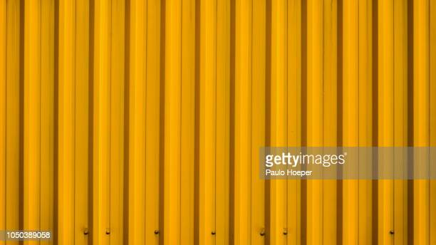 zinc aluminum tiles - corrugated iron stock photos and pictures