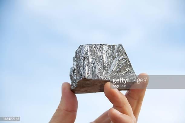 亜鉛鉱金塊