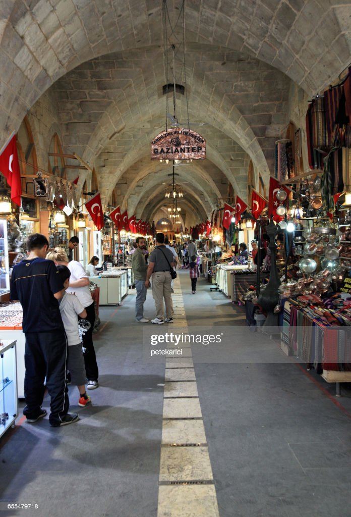 Zincirli Bedesten in Gaziantep, Turkey : Stock Photo