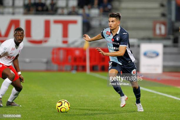 Zinedine Ferhat of Le Havre during the French Ligue 2 match between Nancy and Le Havre on September 14 2018 in Nancy France