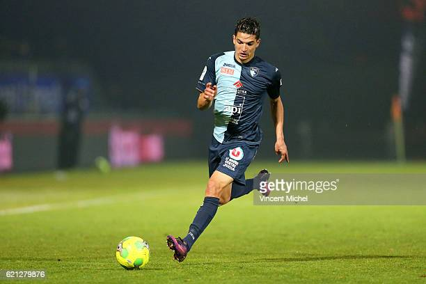Zinedine Ferhat of Le Havre during the Ligue 2 match between Stade Lavallois and Le Havre AC on November 4 2016 in Laval France