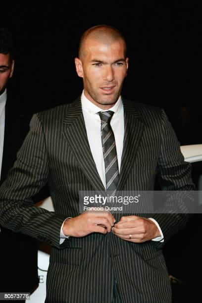 Zinedine Zidane attend 'The Crossing' gala event hosted by IWC Schaffhausen held at the Geneva Palaexpo on April 8, 2008 in Geneva, Switzerland.
