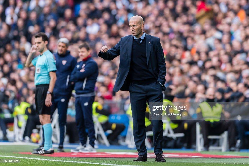 La Liga 2017-18 - Real Madrid vs Sevilla FC : Foto di attualità