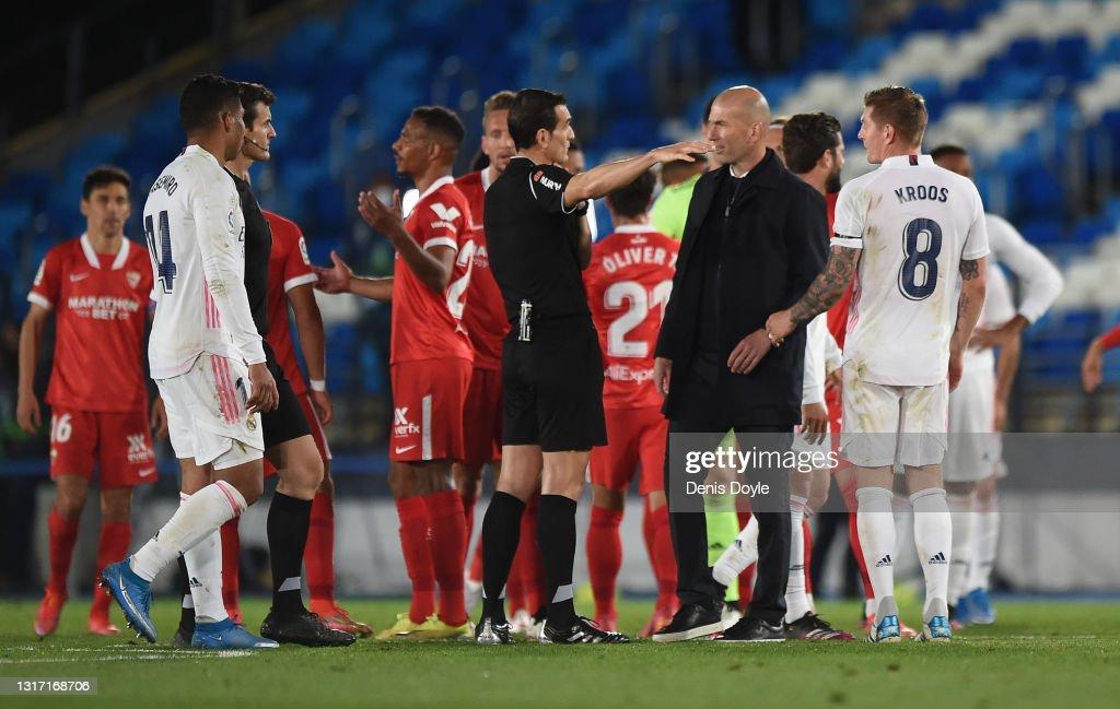 Real Madrid v Sevilla FC - La Liga Santander : News Photo