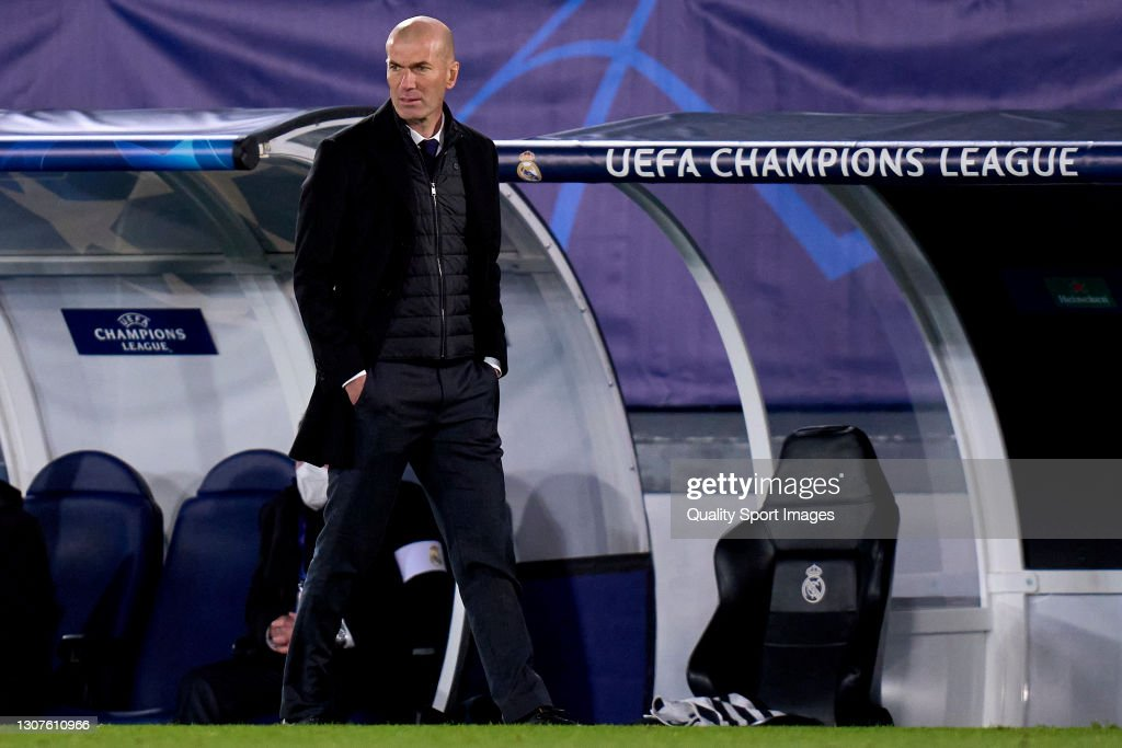 Real Madrid v Atalanta  - UEFA Champions League Round Of 16 Leg Two : News Photo
