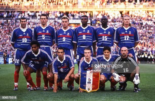 Zinedine Zidane Laurent Blanc Stephane Guivarch Marcel Desailly Lilian Thuram Emmanuel Petit Christian Karembeu Youri Djorkaeff Didier Deschamps...