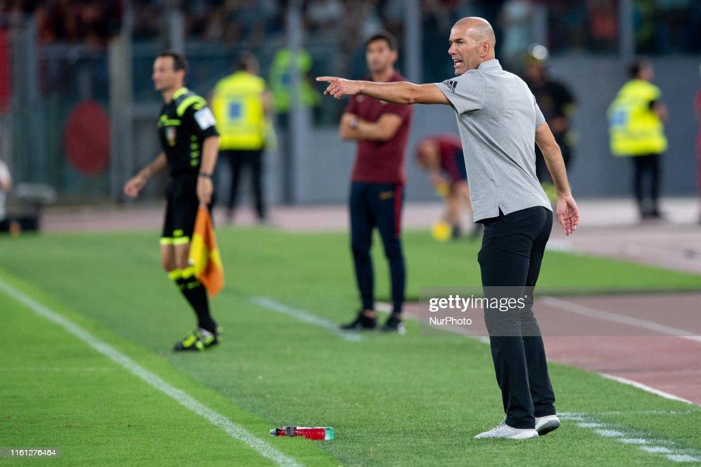 AS Roma v Real Madrid Friendly Match : News Photo