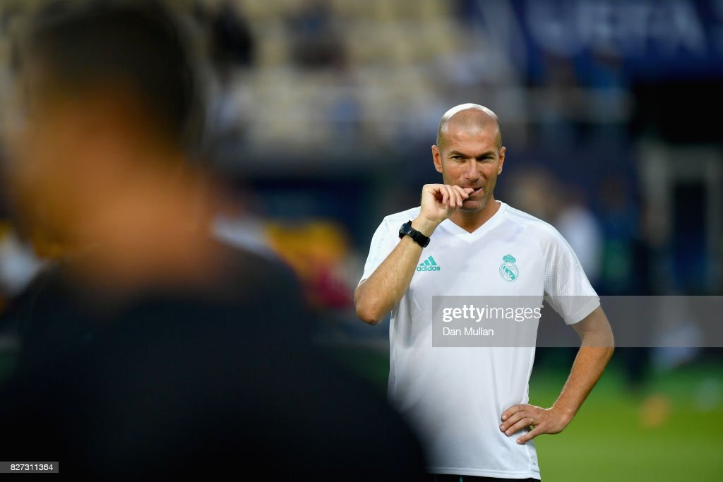 UEFA Super Cup - Previews : News Photo