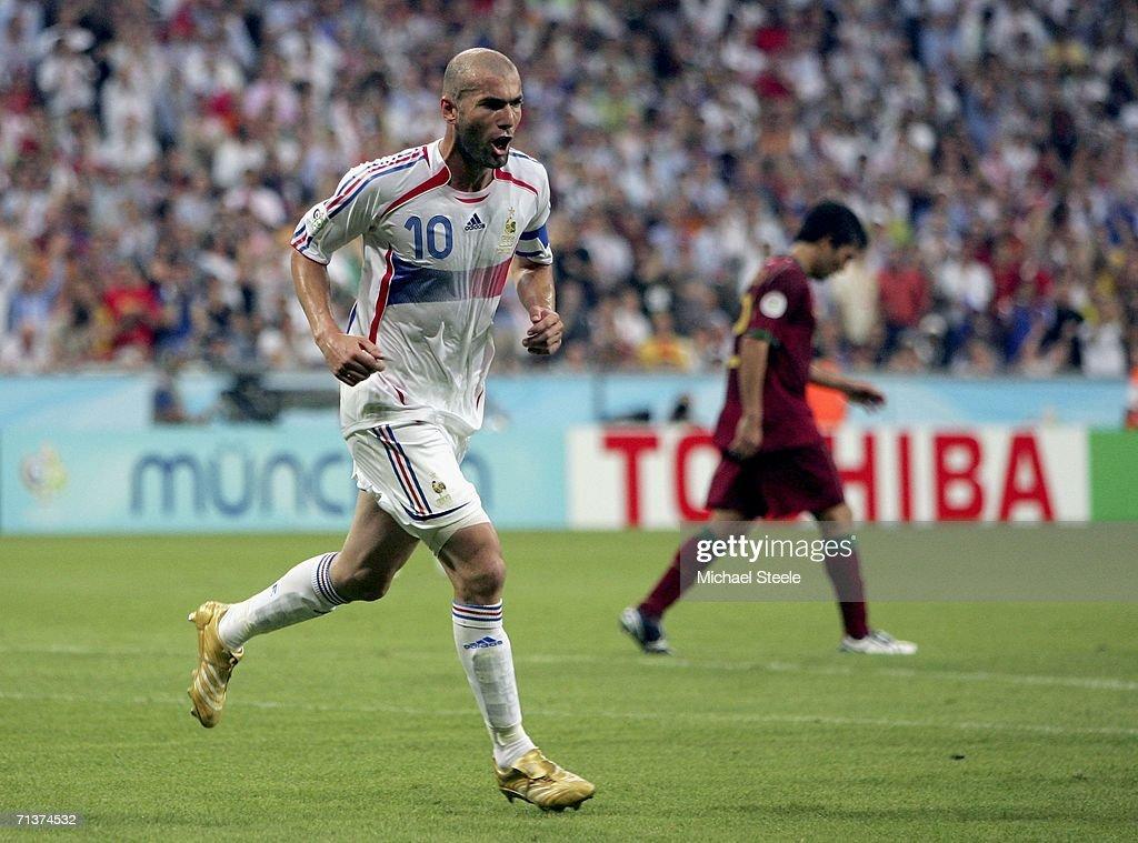 Semi-final Portugal v France - World Cup 2006 : ニュース写真