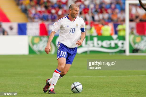 Zinedine ZIDANE of France during the European Championship Pool B match between Switzerland and France at Estadio Cidade de Coimbra, Coimbra, in...