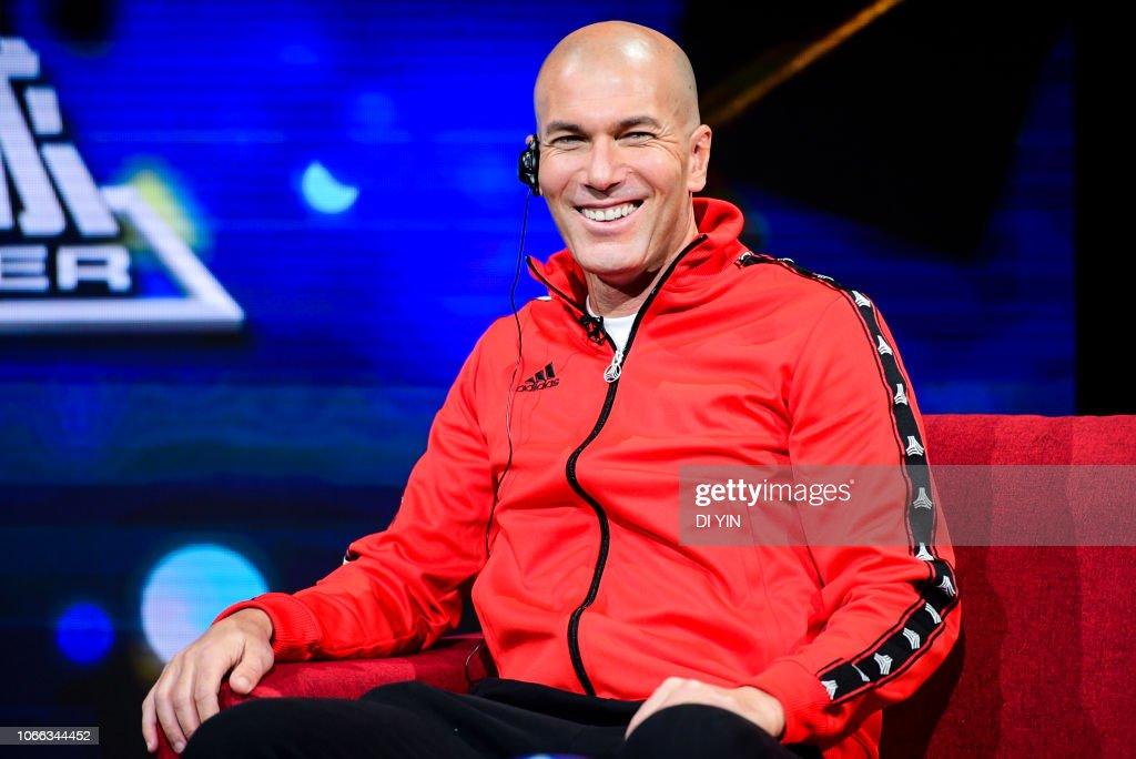 Zinedine Zidane - Photocall : News Photo