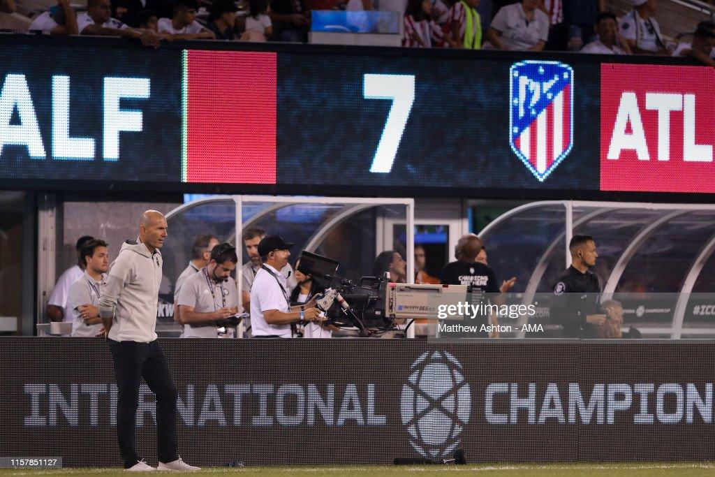 Real Madrid v Atletico de Madrid - 2019 International Champions Cup : Fotografía de noticias