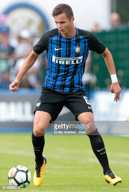 Zinho Vanheusden of FC Internazionale Milano in action during the PreSeason Friendly match between FC Internazionale and Nurnberg on July 15 2017 in...