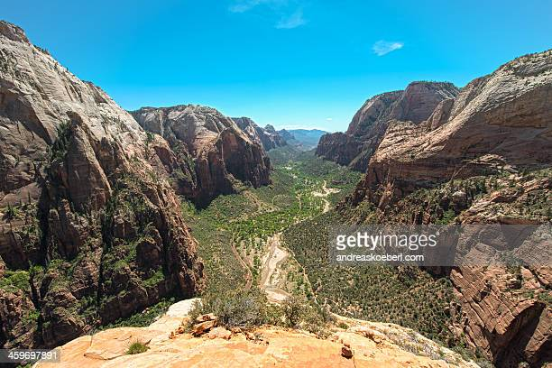 Zion Canyon from the top of Angels Landing