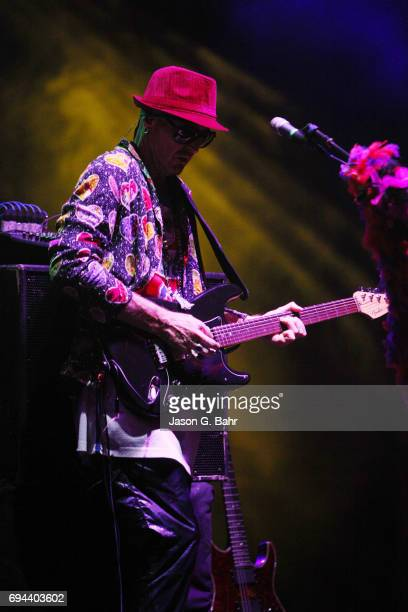 Zion Godchaux of Boombox performs at Red Rocks Amphitheatre on June 9 2017 in Morrison Colorado
