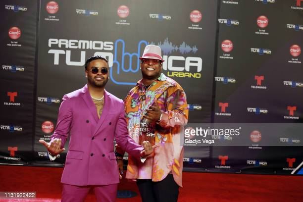Zion Lennox arrive to Premio Tu Musica Urbano at Coliseo Jose M Agrelot on March 21 2019 in San Juan Puerto Rico