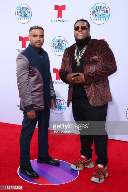 Zion Lennox attend the 2019 Latin American Music Awards at Dolby Theatre on October 17 2019 in Hollywood California