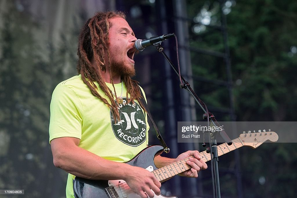 Zion Thompson of The Green performs live at Marymoor Park on June 19, 2013 in Redmond, Washington.