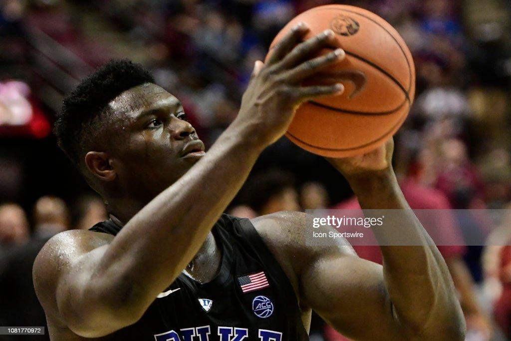 COLLEGE BASKETBALL: JAN 12 Duke at Florida State : News Photo