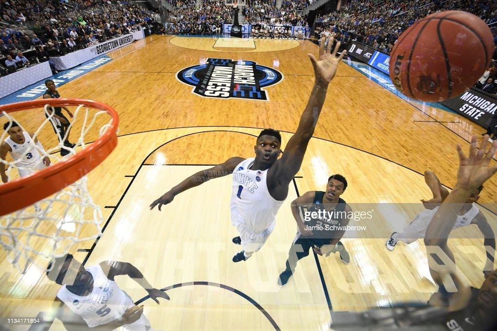 NCAA Basketball Tournament - East Regional - Washington DC : News Photo