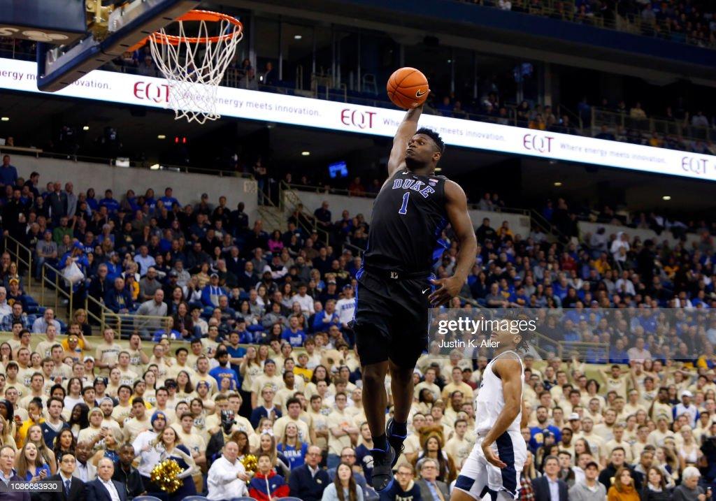 Duke v Pittsburgh : News Photo