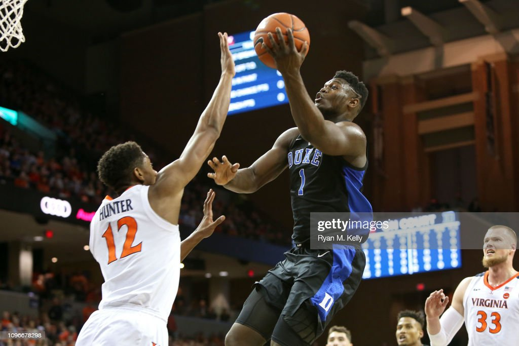 Duke v Virginia : News Photo