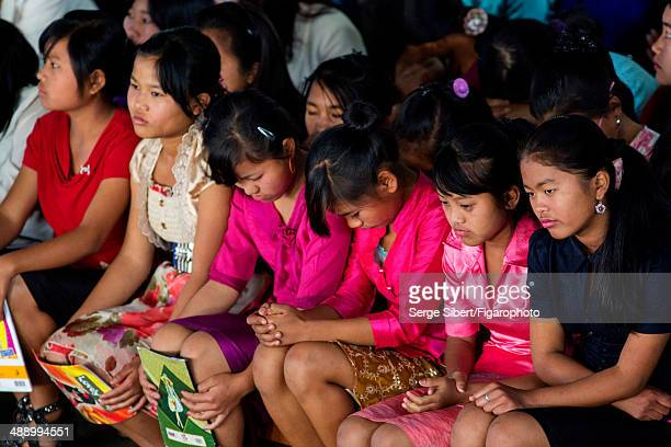 Ziona Chana is photographed for Le Figaro Magazine on December 13, 2013 in Baktawng Village, Mizoram, India. Ziona has 39 wives, 94 children and 33...