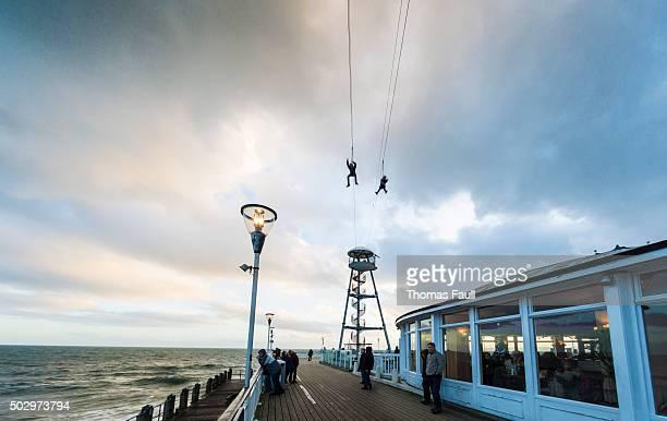 Zip Wire over Bournemouth Pier