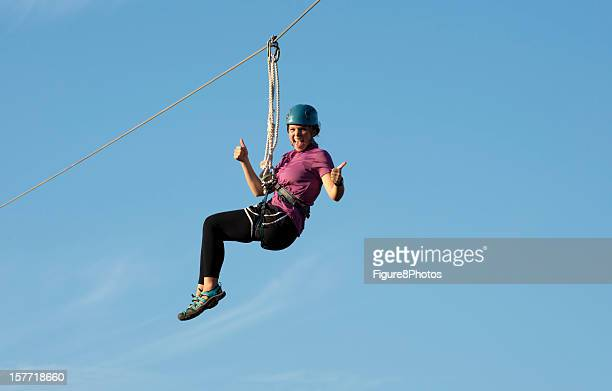 Ziping Girl on Canopy Tour