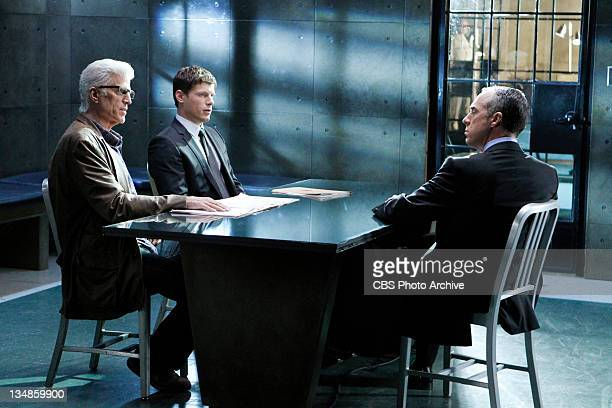 "Zippered""-- D.B. Russell wants some answers and points at Mark Gabriel as Agent Pratt watches, on CSI: CRIME SCENE INVESTIGATION, Wednesday, Dec. 7..."