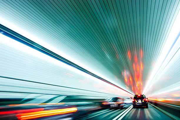 Zipping Through The Holland Tunnel Wall Art