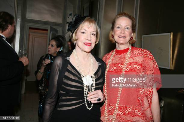 Zita Davisson and Barbara De Portago attend Portrait artist ZITA DAVISSON's Great Gatsby Party A Roaring 20's Evening at Private Residence on October...