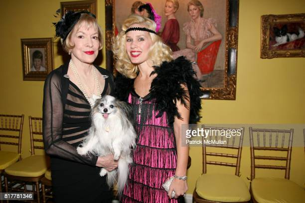 Zita Davisson and MichelleMarie Heinemann attend Portrait artist ZITA DAVISSON's Great Gatsby Party A Roaring 20's Evening at Private Residence on...
