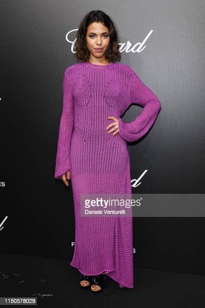 Zita Hanrot attends the The Chopard Trophy event during the 72nd annual Cannes Film Festival on May 20 2019 in Cannes France