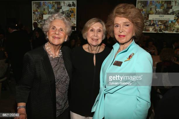 Zita Rosenthal Vivian Belmonte and Nina Weiner attend Mrs Lily Safra Honored at ISEF Foundation's 40th Anniversary at Intercontinental New York...