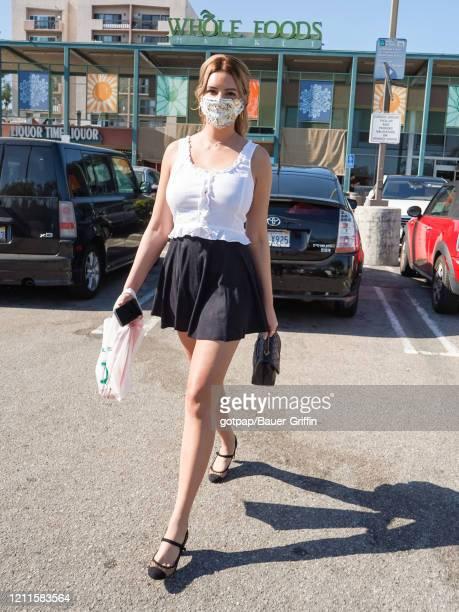Zita Vass is seen on May 01, 2020 in Los Angeles, California.