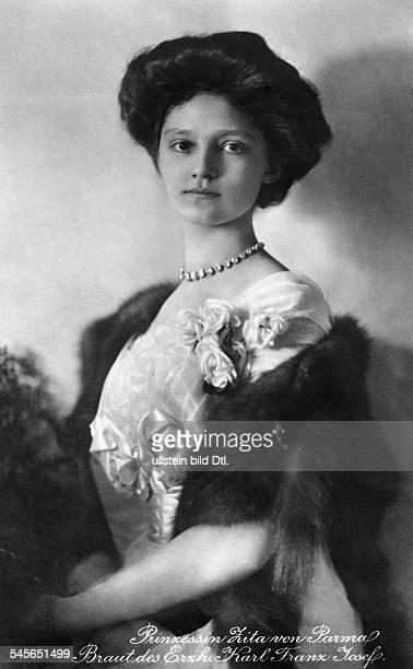 Zita von BourbonParma *09051892Kaiserin von Oesterrreich 19161918Königin von Ungarn Portrait Aufnahme Franz Grainer