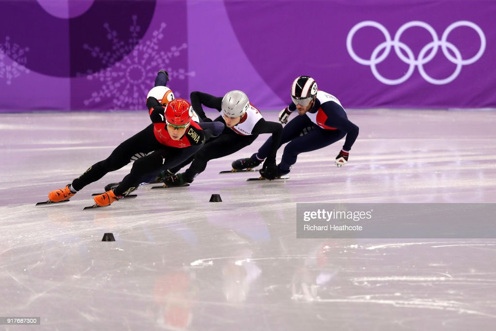 Short Track Speed Skating - Winter Olympics Day 4