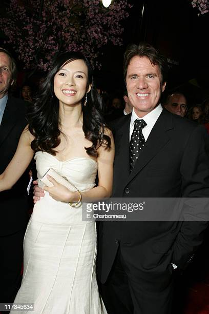 Ziyi Zhang and Rob Marshall Director during Los Angeles Premiere of Columbia Pictures' 'Memoirs of a Geisha' at Kodak Theater / The Grand Ballroom...