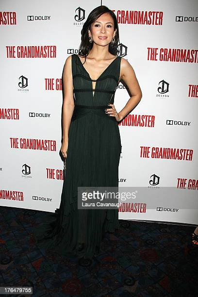 Ziyi Zhang attends 'The Grandmaster' screening at Regal EWalk Stadium 13 on August 13 2013 in New York City