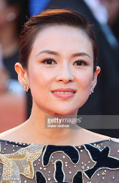 Ziyi Zhang attends 'The Magnificent Seven' Red Carpet Gala Opening Night of the 2016 Toronto International Film Festival at TIFF Bell Lightbox on...