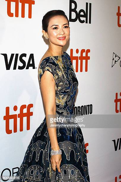 Ziyi Zhang attends the 'The Magnificent Seven' premiere held at Roy Thomson Hall during the Toronto International Film Festival on September 8 2016...