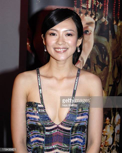 Ziyi Zhang during 2006 Cannes Film Festival 'The Banquet' Party in Cannes France