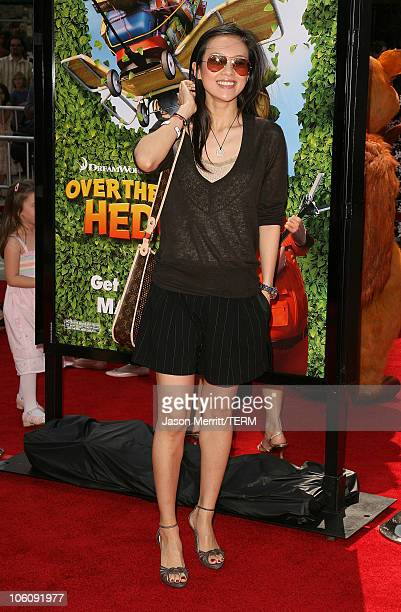 Ziyi Zhang during Dreamworks' 'Over The Hedge' Los Angeles Premiere Arrivals at Mann Village Theatre in Westwood California United States